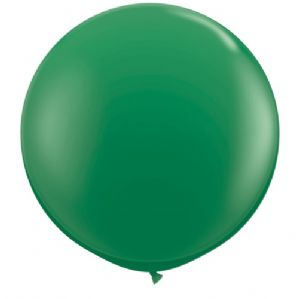 3ft Giant Balloons - Large Green Round Latex Balloon